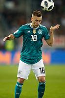 Football International,international friendly, National Team, <br />Germany (GER) - spain  (ESP) 1-1 in Esprit-Arena in Duesseldorf 23. MŠrz  2018<br />Joshua KIMMICH   (GER) <br />, Duesseldorf<br /><br /><br /><br /><br /><br /> <br /> *** Local Caption *** © pixathlon<br /> Contact: +49-40-22 63 02 60 , info@pixathlon.de