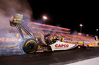 Aug 30, 2019; Clermont, IN, USA; NHRA top fuel driver Steve Torrence during qualifying for the US Nationals at Lucas Oil Raceway. Mandatory Credit: Mark J. Rebilas-USA TODAY Sports