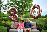 Johnsons' 80th birthdays
