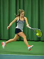 Rotterdam, The Netherlands, March 13, 2016,  TV Victoria, NOJK 12/16 years, Margriet Timmermans (NED)<br /> Photo: Tennisimages/Henk Koster