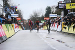 German Champion Maximilian Schachmann (GER) Bora-Hansgrohe wins Stage 1 of the 78th edition of Paris-Nice 2020, running 154km from Plaisir to Plaisir, France. 8th March 2020.<br /> Picture: ASO/Fabien Boukla | Cyclefile<br /> All photos usage must carry mandatory copyright credit (© Cyclefile | ASO/Fabien Boukla)