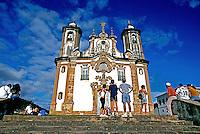 Arquitetura colonial, Igreja N.S. do Carmo em Ouro Preto. Minas Gerais. 1999. Foto de Juca Martins.