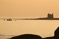 """Europe/France/Bretagne/56/Morbihan/Quiberon: """"Le château de la Mer"""" rebaptisé château Turpault par les Quiberonnais"""