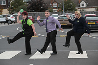Long Service Colleaugues from left are Tracy Price, Andrew Dean and Bernadette Drummand of ASDA Langley Mill