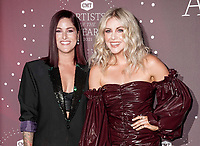 Cassadee Pope, Lindsay Ell attend the 2021 CMT Artist of the Year on October 13, 2021 in Nashville, Tennessee. Photo: Ed Rode/imageSPACE/MediaPunch
