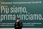 Emergenza Coronavirus - vaccinazioni nei centri commerciali