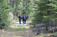 The trails throughout the Island of Sir Winston Churchill Campground...