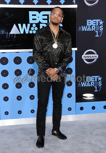 25 June 2017 - Los Angeles, California - Mack Wilds. 2017 BET Awards held at the Microsoft Square in Los Angeles. Photo Credit: Birdie Thompson/AdMedia
