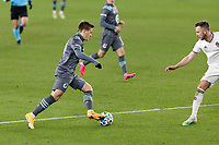 ST PAUL, MN - NOVEMBER 22: Robin Lod #17 of Minnesota United FC controls the ball during a game between Colorado Rapids and Minnesota United FC at Allianz Field on November 22, 2020 in St Paul, Minnesota.
