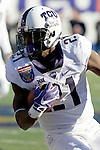 December 30, 2016: TCU running back Kyle Hicks (21) in the second half of the AutoZone Liberty Bowl at Liberty Bowl Memorial Stadium in Memphis, Tennessee. ©Justin Manning/Eclipse Sportswire/Cal Sport Media