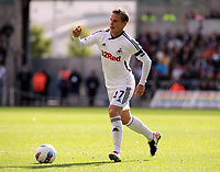 Pictured: Mark Gower of Swansea City in action. Saturday 17 September 2011<br /> Re: Premiership football Swansea City FC v West Bromwich Albion at the Liberty Stadium, south Wales.