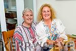Mary McCaffery and Brid McElligott enjoying the evening in Bella Bia on Friday.