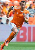April 28, 2013: Houston Dynamo mid fielder Brad Davis #11 during Major League Soccer match in Houston  TX. Houston Dynamo draw 1-1 against Colorado Rapids.