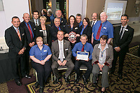 The team from Sheffield Train Station, winners of the East Midlands Trains Best Large Station