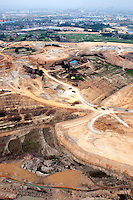 Land being cleared for new developments and infrastructure. /Felix Features