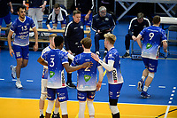 27-03-2021: Volleybal: Amysoft Lycurgus v Draisma Dynamo: Groningen vreugde bij Lycurgus