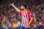 Diego Costa of Atletico de Madrid reacts during the La Liga 2018-19 match between Atletico de Madrid and Rayo Vallecano at Wanda Metropolitano on August 25 2018 in Madrid, Spain. Photo by Diego Souto / Power Sport Images