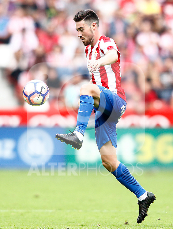 Sporting de Gijon's Moi Gomez during La Liga match. September 24,2016. (ALTERPHOTOS/Acero)