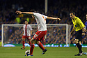 Greg Tansey of Stevenage shoots at goal<br />  - Everton v Stevenage - Capital One Cup Second Round - Goodison Park, Liverpool - 28th August, 2013<br />  © Kevin Coleman 2013