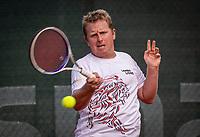 Netherlands, Oktober 17,  2021, Beneden-Leeuwen, KIA Competition Men, premier league, Lewabo vs Suthwalda, Stefan Wouters <br /> Photo: Henk Koster/tennisimages.com