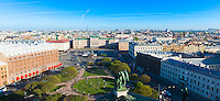 Panorama Of St Petersburg From Observation Deck Of St Isaak's Cathdral