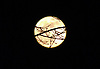 A supermoon is a full moon or a new moon that approximately coincides with the closest distance that the Moon reaches to Earth in its elliptic orbit, resulting in a slightly larger-than-usual apparent size of the lunar disk as seen from Earth.<br /> <br /> Stock Photo by Paddy Bergin