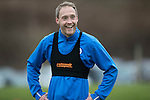 St Johnstone Training….20.01.17<br />Steven Anderson pictured during training this monring ahead of tomorrow's Scottish Cup game against Stenhousemuir.<br />Picture by Graeme Hart.<br />Copyright Perthshire Picture Agency<br />Tel: 01738 623350  Mobile: 07990 594431