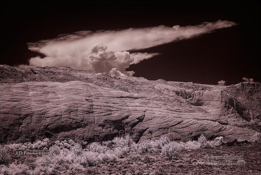 Anvil Cloud above Snow Canyon, Utah