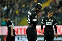 Paul Pogba Juventus.Calcio Parma vs Juventus.Campionato Serie A - Parma 13/1/2013 Stadio Ennio Tardini.Football Calcio 2012/2013.Foto Federico Tardito Insidefoto.
