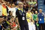 Spain's coach Jordi Ribera Romans during 2018 Men's European Championship Qualification 2 match. November 2,2016. (ALTERPHOTOS/Acero)