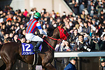 FUCHU,JAPAN-FEBRUARY 18: Nonkono Yume,ridden by Hiroyuki Uchida,wins the February Stakes at Tokyo Racecourse on February 18,2018 in Fuchu,Tokyo,Japan (Photo by Kaz Ishida/Eclipse Sportswire/Getty Images)