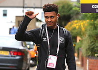 Ollie Watkins of Brentford arrives at the ground during Brentford vs Wigan Athletic, Sky Bet EFL Championship Football at Griffin Park on 4th July 2020