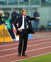 Roberto Mancini allenatore Lazio<br /> Calcio 2002/2003<br /> Foto Andrea Staccioli/Insidefoto