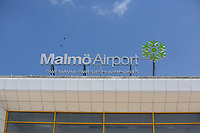 Wednesday 07 August 2013<br /> Pictured: Malmo Airport<br /> Re: Swansea City FC travelling to Sweden for their Europa League 3rd Qualifying Round, Second Leg game against Malmo.