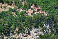 New Philosophos Monastery near Dimitsana in Arcadia, Peloponnese, Greece.