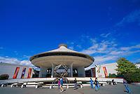 H.R. MacMillan Space Centre Planetarium and Vancouver Museum in Vanier Park, Vancouver, British Columbia, Canada - Summer