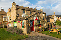 UK, England, Yorkshire, Reeth.  Village Post Office and Store.