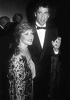 Donna Pescow John Travolta 1985<br /> Photo By John BarrettPHOTOlink.net