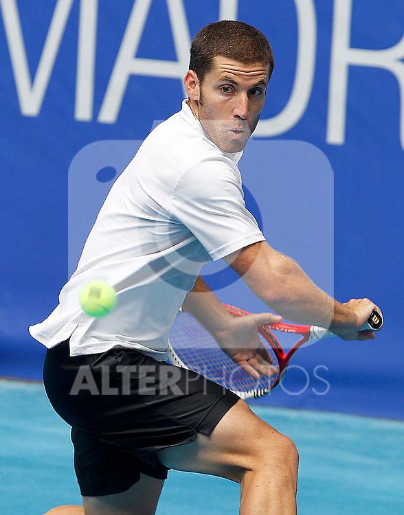 Flavio Cipolla during Madrid Open Tennis 2012 Match.(ALTERPHOTOS/ALFAQUI/Acero)