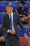 League ACB-ENDESA 2020/2021 - Game: 1.<br /> Barça vs Hereda San Pablo Burgos: 89-86.<br /> Sarunas Jasikevicius.