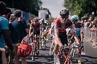 Michael Schär (SUI/BMC) post-finish<br /> <br /> Stage 9: Arras Citadelle > Roubaix (154km)<br /> <br /> 105th Tour de France 2018<br /> ©kramon