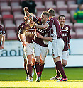 Stenny's Kevin McKinlay (3) celebrates after he scores their first.