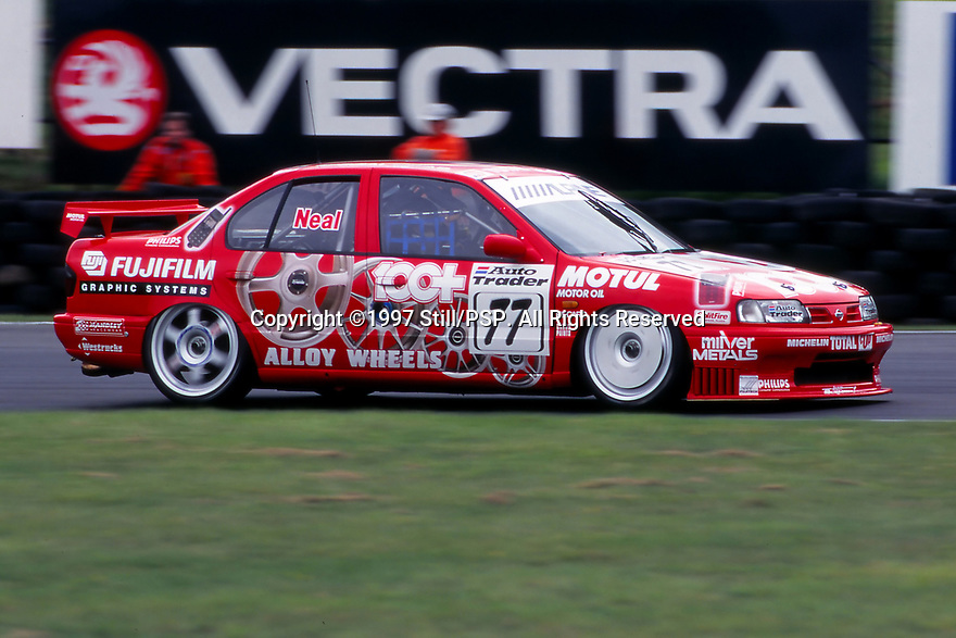 1997 British Touring Car Championship. #77 Matt Neal (GBR). Team Dynamics. Nissan Primera.