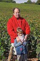 Laurent Juillot and son owner dom m juillot mercurey burgundy france