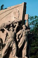 China, Peking, Mao-Denkmal am Tian An Men Platz