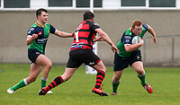 Saturday 3rd October 2020 | Hinch vs Armagh<br /> <br /> John Dickson on the attack for Ballynahinch during their Ulster Senior League clash against Armagh at Ballymacarn Park, Ballynahinch, County Down, Northern Ireland. Photo by John Dickson / Dicksondigital