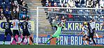 Conrad Balatoni chips keeper Sean Murdoch to score for Falkirk