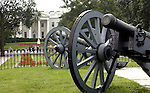 White House cannons, Washington, D.C., The White House Washington, D.C., White House is the official residence The President of the United States, President of the United States of America, 1600 Pennsylvania Avenue NW Washington D.C., White House built 1792-1800, White House is Executive Residence of First Family, residence of every US President since John Adams, West wing, Oval Office, East Wing, West Wing, Executive Office of the President of the United States, West wing is Oval office Cabinet Room Roosevelt room, East wing is First Lady and White House Social Secretary, Old Executive Office Building, Vice President,  Washington D.C. fine art photography by Ron Bennett (c). Copyright, fine art photography by Ron Bennett (c). Copyright, Fine Art Photography by Ron Bennett, Fine Art, Fine Art photo, Art Photography,