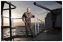 Porte hélicoptères Jeanne d'Arc<br /> Ocean Atlantique<br /> Capitaine d'armes.  <br /> Major fusillier JJ Nadon.