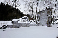 """Ruins of the original monastery in Munkeby...The new Munkeby Mariakloster - kloster is Norwegian for monastery . The four founding French monks will establish their discrete presence as a contemplative monastery according to the Rule of Saint Benedict, written in the 6th century. Brother Joel (55) & Cîteaux's Prior, brothers Arnaud (31), Bruno (33) and Cyril (81), have all chosen to be part of the founding community, despite Norway's rude climate and winter darkness at latitude 63º N, not far from the arctic circle.Munkeby, the """"place of the monks"""" was the third and northernmost Norwegian monastery established by the Cistercians in the 12th century"""